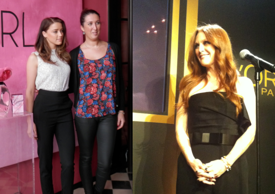 Amber Heard et Julianne Moore